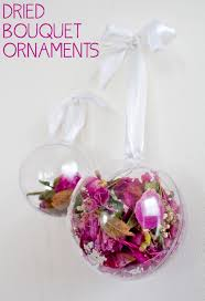 dried bouquet ornaments for dried wedding flowers what