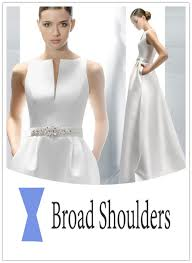 wedding dress style wedding dresses for women with broad shoulder everafterguide