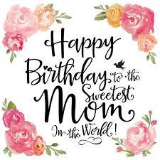 trendy verjaardagskaart met getekende bloemen design 99treats te