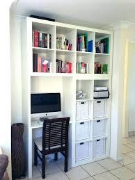 bibliothèque bureau intégré bibliotheque bureau integre et meuble intacgrac avec ikea amanda