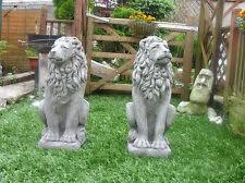 lion garden statue peachy ideas concrete garden statues a pair of lion