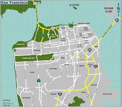 San Francisco Peninsula Map by San Francisco Tourism San Francisco Attractions San Francisco