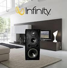 Infinity Bookshelf Speakers Infinity Kappa 5 1 Series Ii Black Oak Hi Fi Bookshelf Speakers