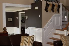 Pictures Of Wainscoting In Dining Rooms Custom Raised Panel Staircase Wainscoting Pictures