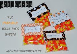 cute halloween treat bags u2013 halloween printable treat bag toppers