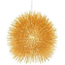 gold mini pendant light modern gold starburst pendant lights lighting the home depot