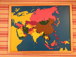 Continent Of Asia Map by Montessori Materials Review Geography Sugar Spice And Glitter