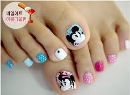 manicure nails cool toenail designs cartoon toe nail designs funky