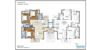 3 bhk 1400 sq ft apartment for sale in jaypee greens udaan at rs