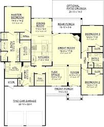 large kitchen floor plans large ranch style house plans ranch style house plans with large