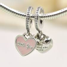 pandora necklace with pendant images 2015 new 925 sterling silver charms travel together heart charm jpg
