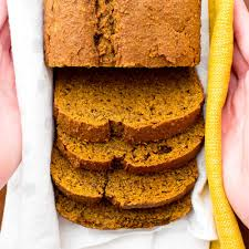 Vegan Gluten Free Bread Machine Recipe One Bowl Gluten Free Vegan Pumpkin Bread V Gf Df Beaming Baker