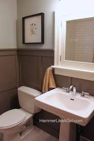 craftsman bathroom remodel hammer like a girlhammer like a