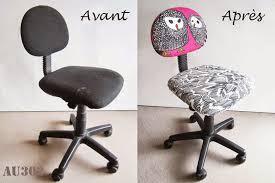 une chaise relooker une chaise de bureau enfant pour 5 au 303 home deco