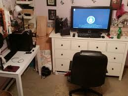 Computer Game Desk by My Room Setup Video Games Amino
