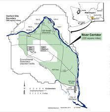 Columbia River Map Agencies Host Hanford River Corridor Cleanup Workshops 6 13 6 14