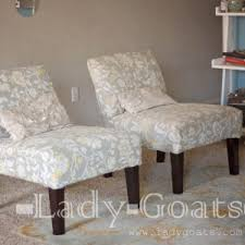 armless accent chair slipcover living room slipcover for armless accent chair chair covers ideas