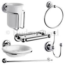 Beautiful Bathroom Accessories Uk Hudson Reed 6 Piece Traditional Bathroom Set Chrome At Victorian