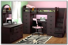loft bed with stairs and desk cappucco fish case loft bed with
