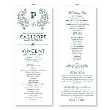 photo wedding programs wedding programs stationery the american wedding