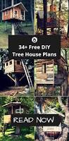 34 free diy tree house plans that will make your neighbor jealous