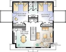 House With 2 Bedrooms House Plan W2931a Detail From Drummondhouseplans Com