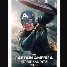 Captain America Meme - bernie sanders captain america blank template imgflip
