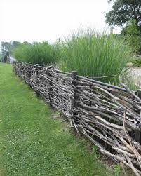 rustic garden fence ideas home u0026 gardens geek