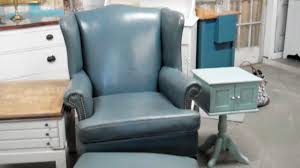 Small Leather Chair And Ottoman Best Image Of Leather Chairs And Ottomans All Can Download All