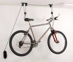 Bicycle Ceiling Hoist by Garage Bike Storage Ceiling Home Design Ideas