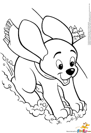 cartoon puppy coloring pages getcoloringpages com