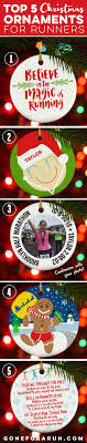 here are our top 5 favorite ornaments for runners our 3