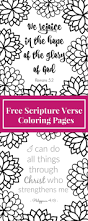 free printable scripture verse coloring pages coloring