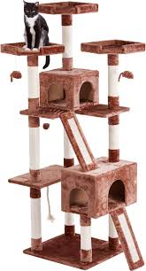 frisco 72 inch cat tree brown chewy com