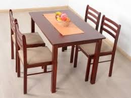 used wood dining table carolina 4 seater dining table set buy and sell used furniture and