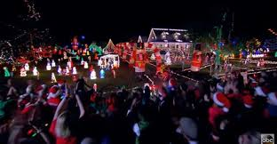 the great christmas light show abc great christmas light fight 2016 holiday light show winners
