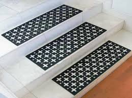 non slip stair treads indoor securing indoor stair treads