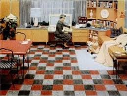 congoleum gold seal linoleum flooring magazine 14 feb 1955