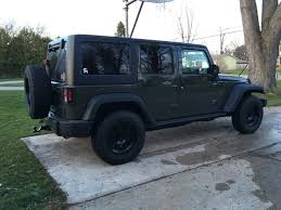 jeep black wrangler outfitting the new jeep wrangler unlimited black bear edition
