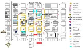 car service center floor plan downtown event layout released for route 66 mother road festival