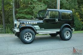 black jeep 2 door jeep cj7 laredo sport utility 2 door 4 2l