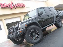 monster jeep jk wrangler s off road set up rent a wheel rent a tire