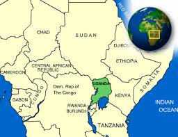 Map Of Uganda Uganda Facts Culture Recipes Language Government Eating
