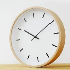 minimalist wall clock 30 large wall clocks that don t compromise on style