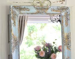 Decorate Bathroom Mirror - large ornate mirror etsy