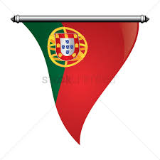 Flag Of Portugal Meaning Portugal Flag Pennant Vector Image 1580122 Stockunlimited