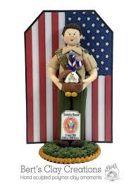 eagle cake topper basic eagle scout ornament bert s clay creations