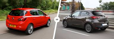 volkswagen vauxhall vauxhall corsa vs mazda 2 which supermini is best carwow