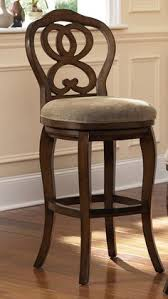 hammary hidden treasures 24 in woven backless counter modern 24 inch fabric swivel back counter height stool wood bar