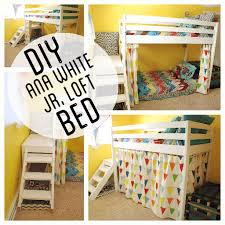 Free Loft Bed Plans With Slide by Diy Kids Loft Bunk Bed With Stairs Loft Beds Kids Junior Loft